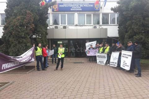 protest politisti 1