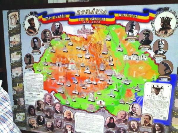 harta romania mare cernauti