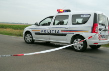 1 Accident politie banderola Suceava Obiectiv