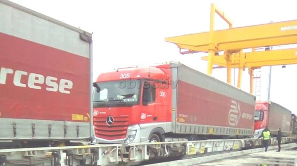 camioane in vagoane
