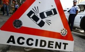 accident politie semnalizare