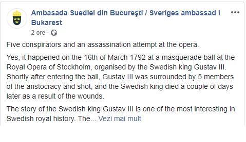 ambasada suediei