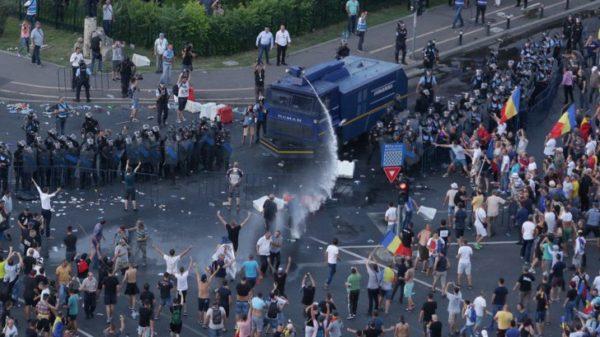 protest gaze
