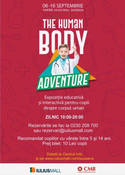 The Human Body Adventure Iulius Mall Suceava-min