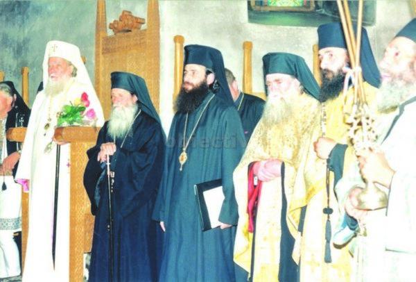 PFTeoctist la ultima sa vizită la Mănăstirea Putna
