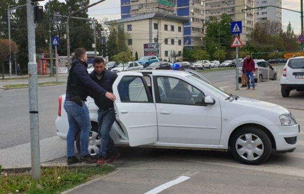 Barbatul de 33 de ani a fost prins de politisti miercuri dimineata. FOTO: pressalert.ro