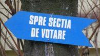 sectie de votare indicator alegeri Obiectiv