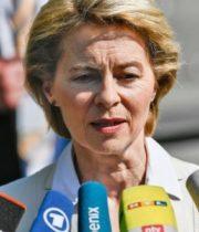 Ursula von der Leyen, sefa Comisiei Europene