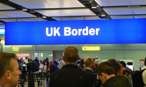 UK, border, Marea Britanie, Obiectiv
