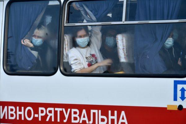 Ucraina, coronavirus, masca