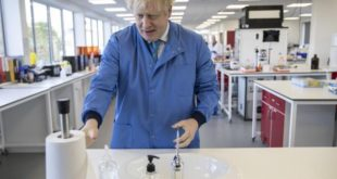 boris johnson internat covid