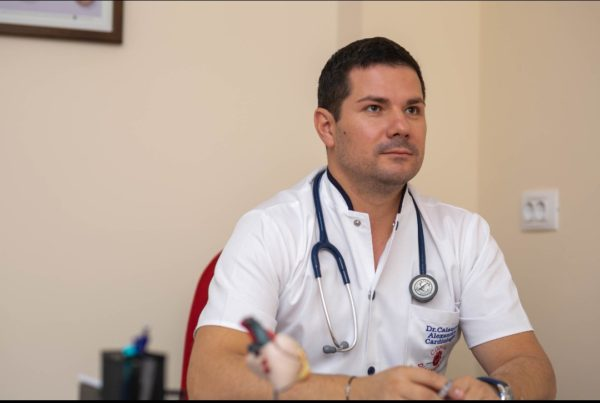 Alexandru Calancea, medic, manager, Obiectiv