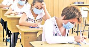 Obiectiv, Suceava, elevi, Evaluare Nationala, masca