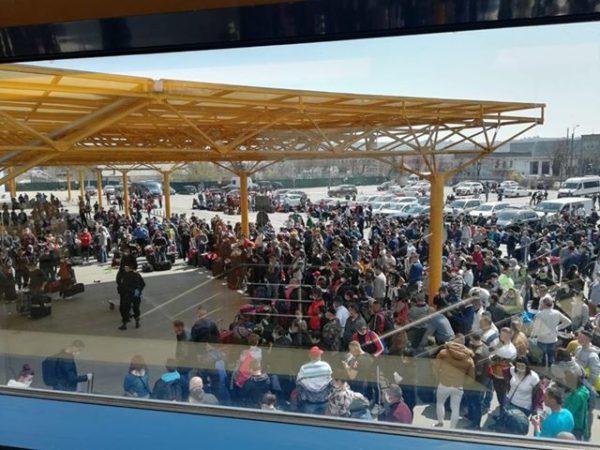 Romani, aeroport Clujm Germania, Obiectiv