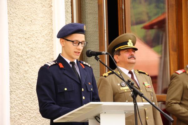 Obiectiv, Liceul Militar, Campulung Moldovenesc, sef de promotie, Lucian Neamtu