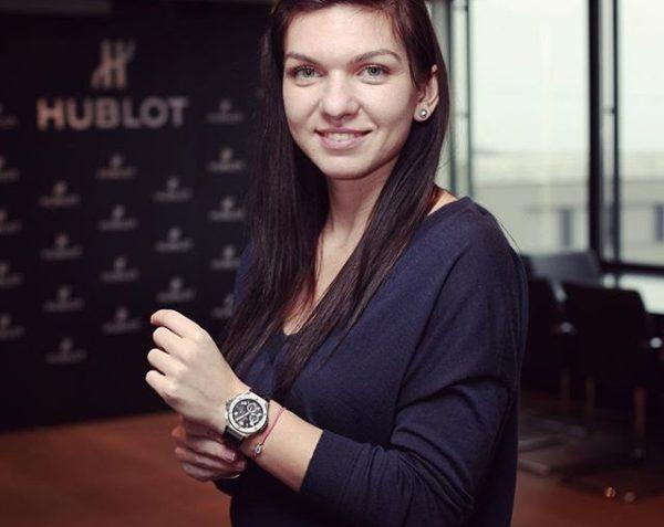 Simona Halep, Hublot, Obiectiv, ceas