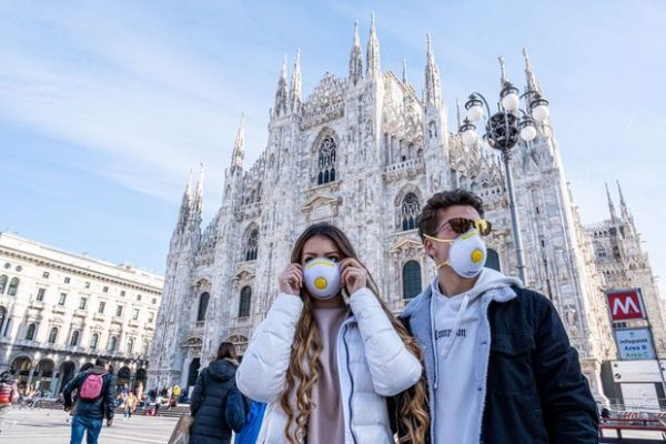 Italia, Covid, masca, carantina