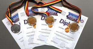 medalii, USV, targ, inventica, Timisoara